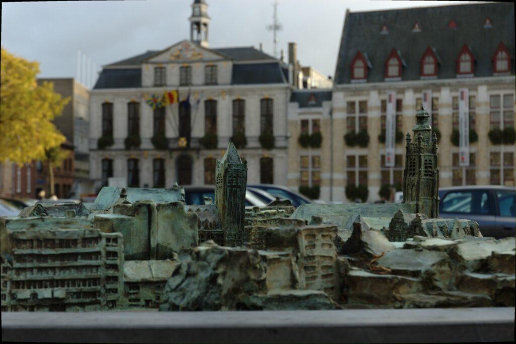 Maquette van Stad Roeselare