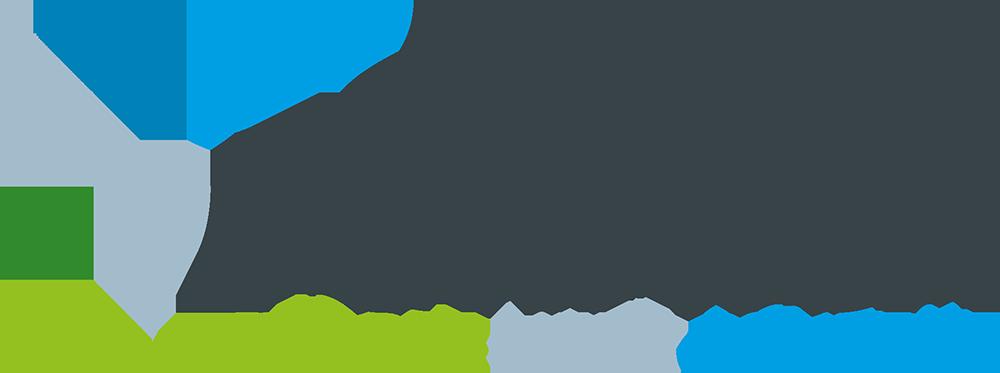 """Logo van het bedrijf Formica met slogan """"people meet content"""""""